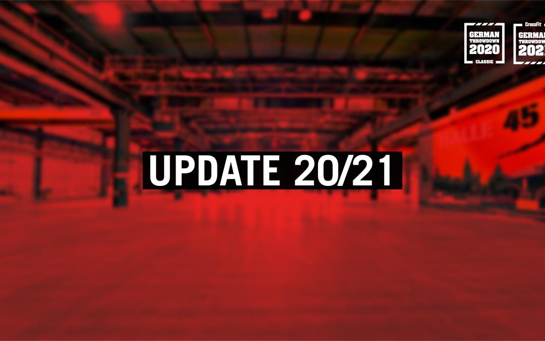 Event Update 20/21