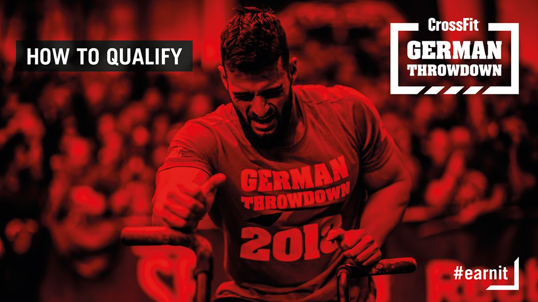 How to qualify to the CrossFit German Throwdown