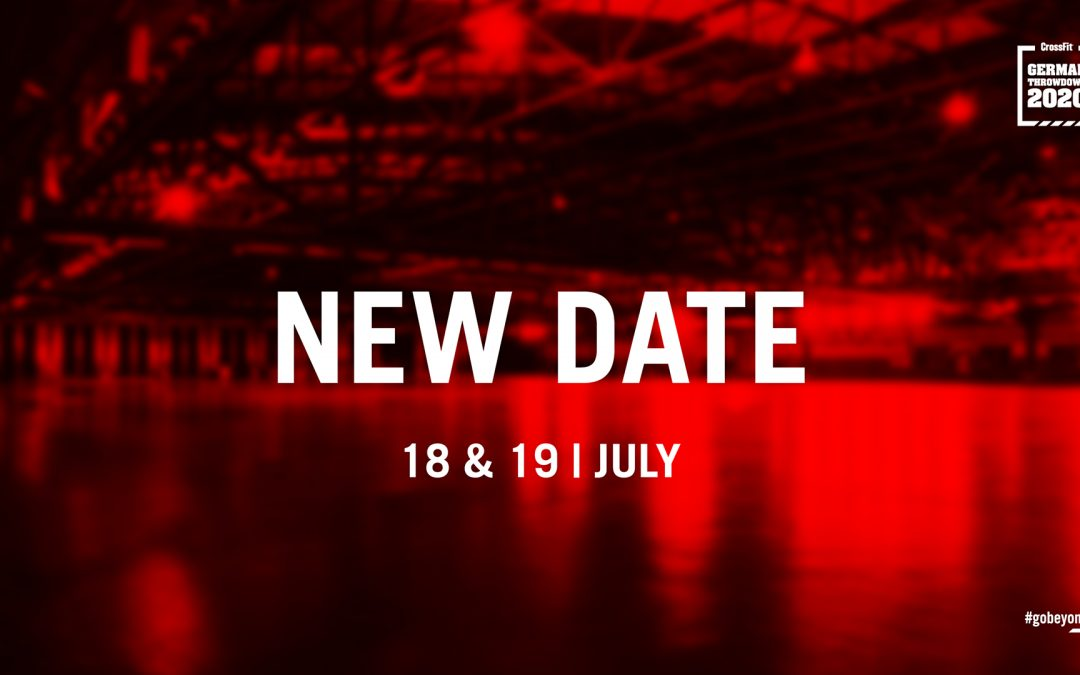 New Date: CrossFit German Throwdown 2020
