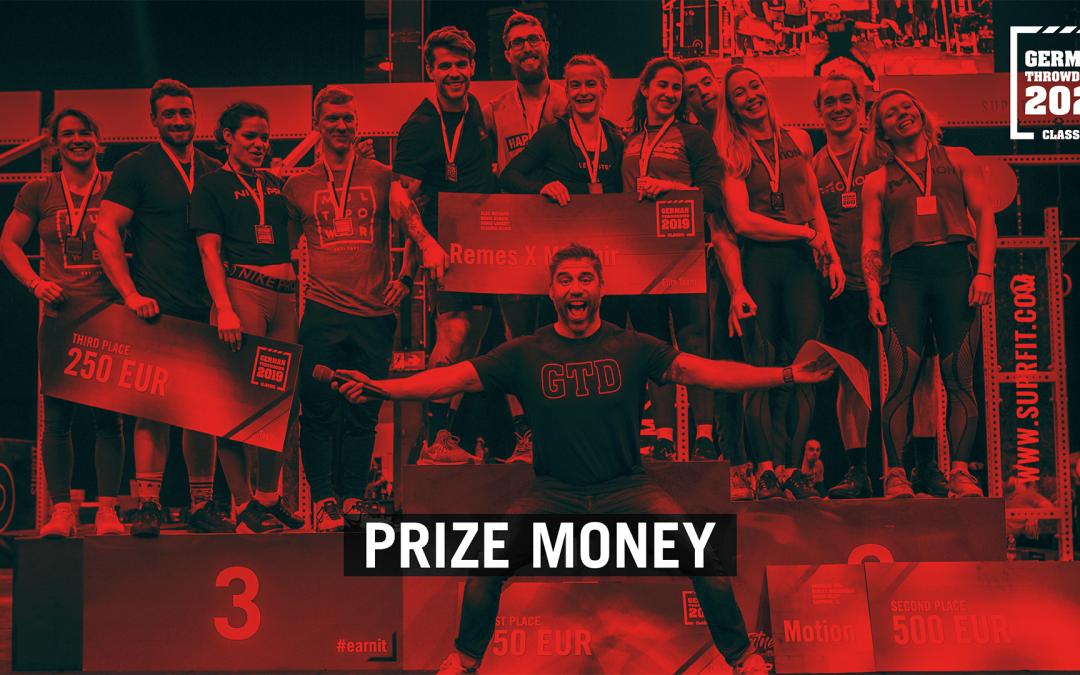 Prizemoney CrossFit® German Throwdown Classic 2021