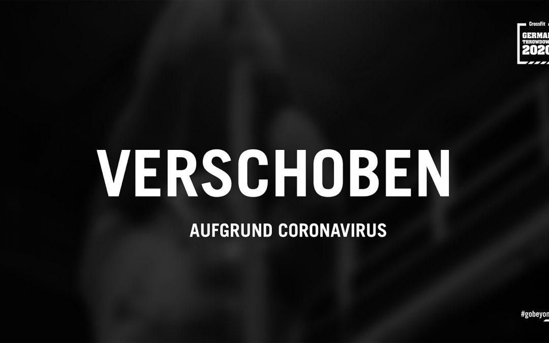 Verschoben CrossFit German Throwdown 2020
