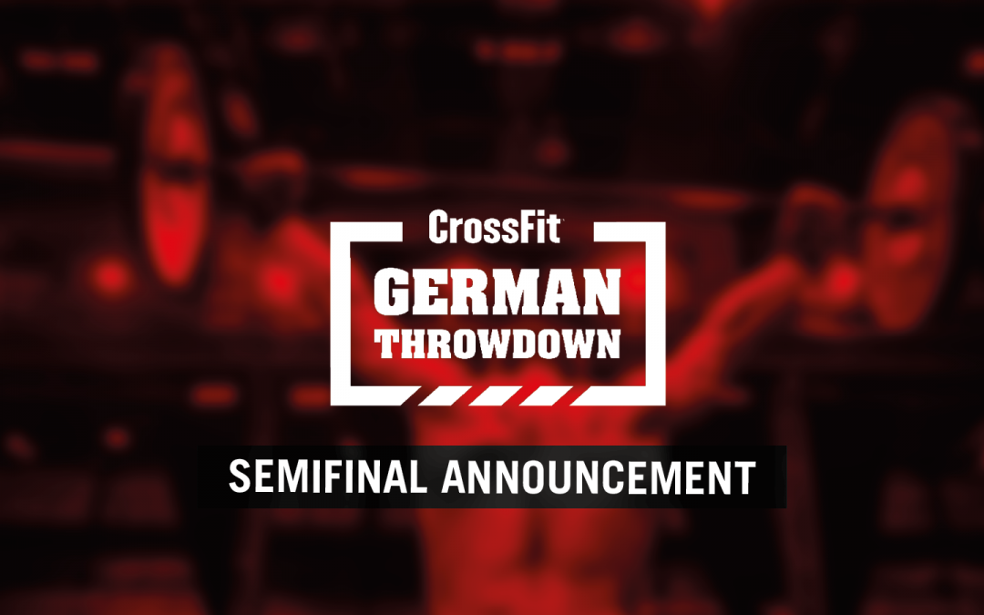 CrossFit Semifinal Announcement